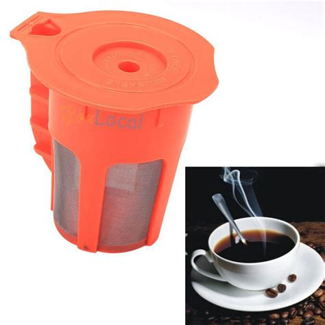 These are specifically designed for pod coffee machines such as nespresso and keurig. K-cups Refillable K-Carafe Coffee Reusable Brewer K Cup ...