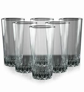 Pasabahce Karat Long Glass Set Of 6 by Pasabahce Online
