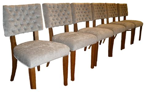 grey velvet dining chairs contemporary los angeles