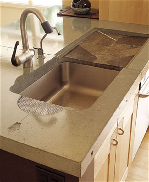 kitchen sink built into countertop kitchen sinks with drainboard built in wow blog