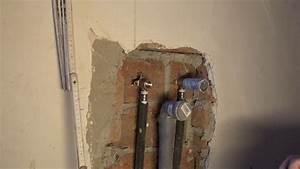 Wasserleitung Unterputz Verlegen : wasseranschluss abwasserrohr f r sp le oder waschbecken mit installieren youtube ~ Orissabook.com Haus und Dekorationen