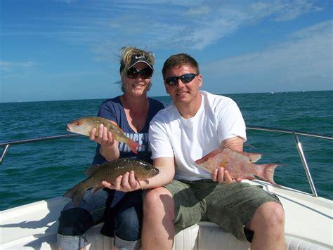 fishing florida marathon keys fl report couple charters snapper bay fish seasquared overdue honeymoon iowa captain johnson chris hogfish january