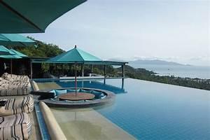 infos sur piscine a debordement de reve arts et voyages With transat de piscine design 9 infos sur piscine de luxe avec toboggan arts et voyages