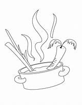 Coloring Cooking Pot Pages Plato Chefs Template Printable Chef Soup Cook Hellokids Publix Drawing Tea Cup sketch template