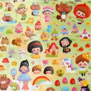 Fairy Tale Kawaii Stickers