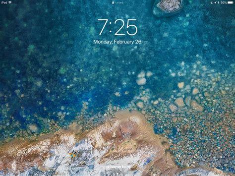 change  ipad wallpaper