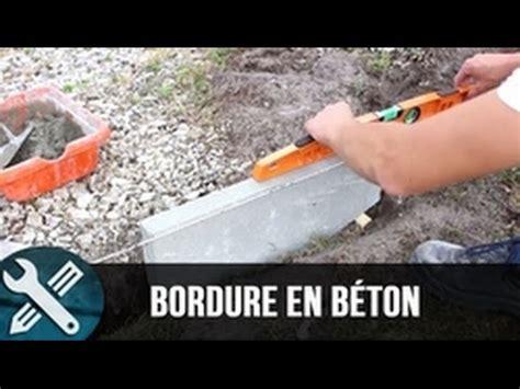 bordure jardin beton bricolage vlogs r 233 alisation d une bordure en b 233 ton