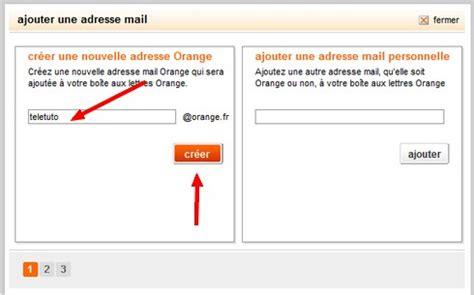 comment mettre orange mail sur le bureau