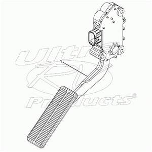 W0003519 - Workhorse Throttle Pedal Assembly