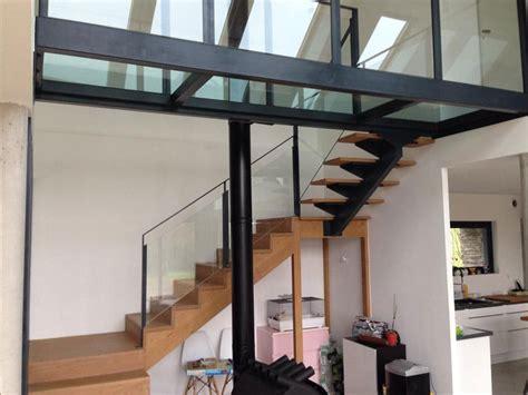 chambre style escalier et mezzanine mb creation