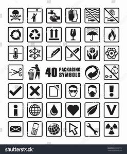 Set Of Packaging Symbols In Vector Format - 263692913 ...