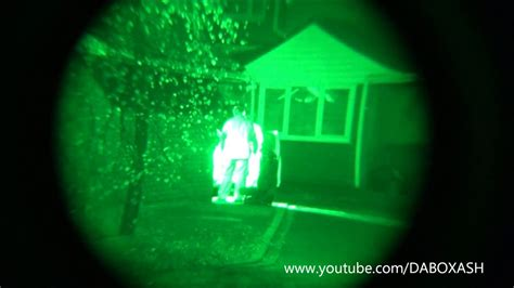 homemade night vision  sony camcorder test youtube