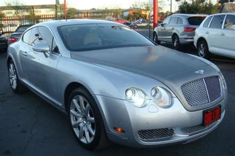 The Cheapest Bentley Continental Gt On Autotrader Is Under