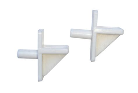 5mm White Plastic Shelf Rest At Menards®