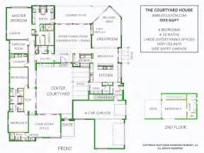 home plans with courtyards courtyard house plan contemporary courtyard house plan