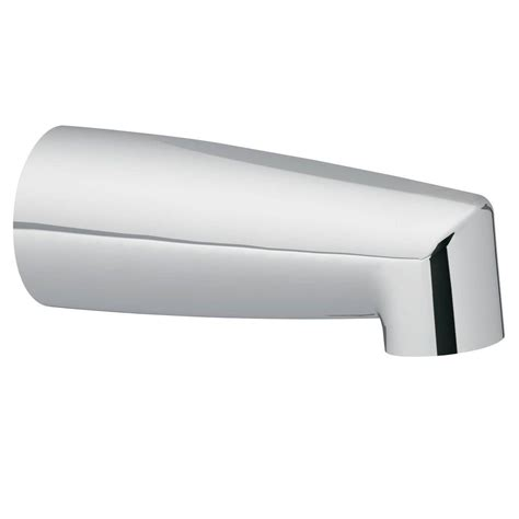 Moen Nondiverter Tub Spout With Slip Fit Connection In