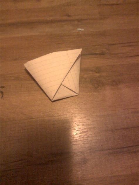 fold  cup   sheet  paper  steps  pictures
