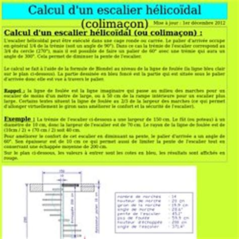 calcul d un escalier droit simple calcul escalier pearltrees