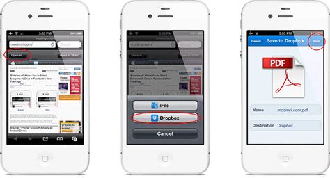 how to view pdf on iphone save open safari webpages as pdf files in iphone