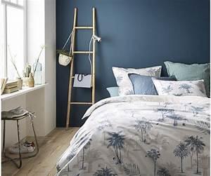 Deco Chambre Ami : choisir le bon mur peindre et ou d corer dans la pi ce murs bleus blog deco et le blog ~ Melissatoandfro.com Idées de Décoration