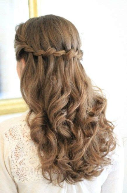 waterfall braids  curls pictures   images