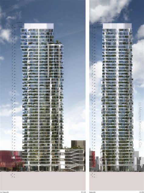 grand tower das hoechste wohnhochhaus  deutschland neubau