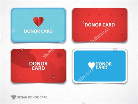 donation card designs psd vector eps jpg
