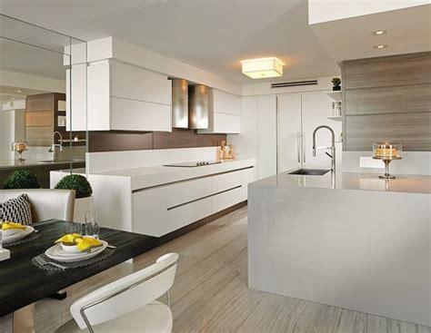 cuisine de luxe design plan de cuisine fonctionnelle 105 idées pratiques et utiles