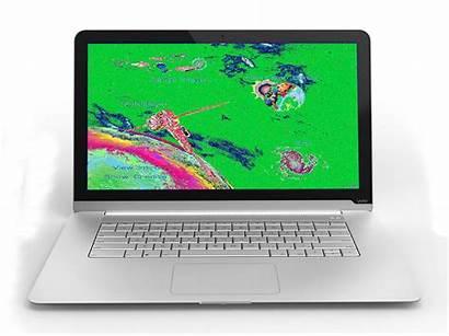 Laptop Colours Screen Showing Strange Pixels Pc