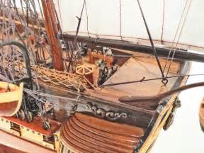 USS Constitution Wooden Model Ship