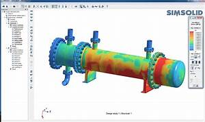 Using Simsolid For Analysis Of A Heat Exchanger