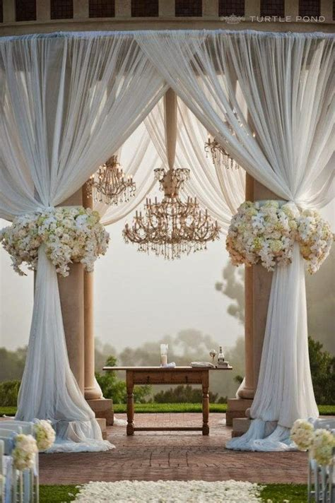 using tulle in many wedding decoration ideas wedding