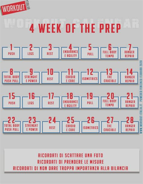 4 weeks of the PREP workout   BitFeed.co
