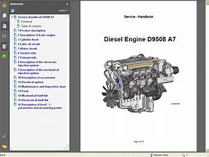 Liebherr Diesel Engine D9508 A7 Service Manual Repair