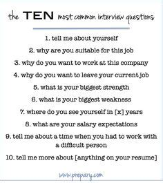 how to answer the most common questions resume
