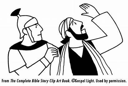 Coloring Paul Bible Pages Peter Prison Silas