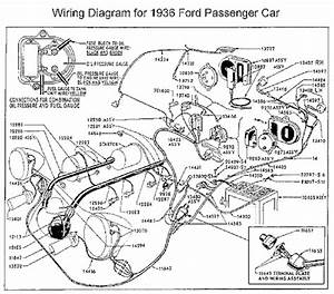 Ford 1936 Passenger Car Wiring Diagrams  61404