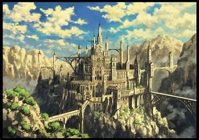 Castle Fantasy Bridge Wallpapers Backgrounds Desktop Medieval
