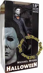 NECA Halloween Reel Toys Michael Myers 18 Action Figure ...