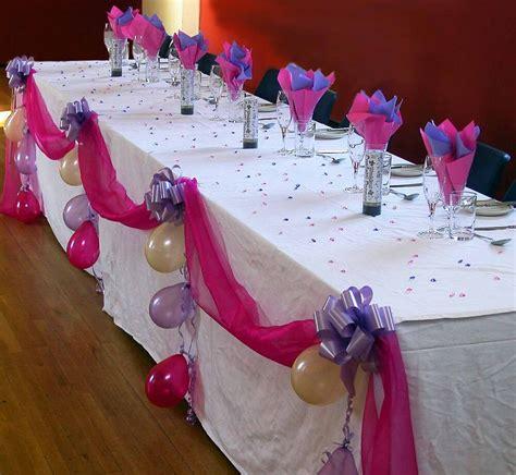 wedding top table diy decoration kit organza fabric swags