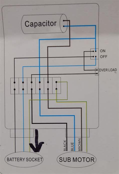 plumbing confusion  wiring control box