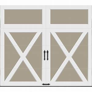 clopay coachman collection 8 ft x 7 ft 184 r value With 8 ft insulated garage door
