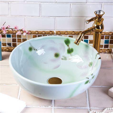 vintage style bathroom sinks china vintage style ceramic art basin sink counter top