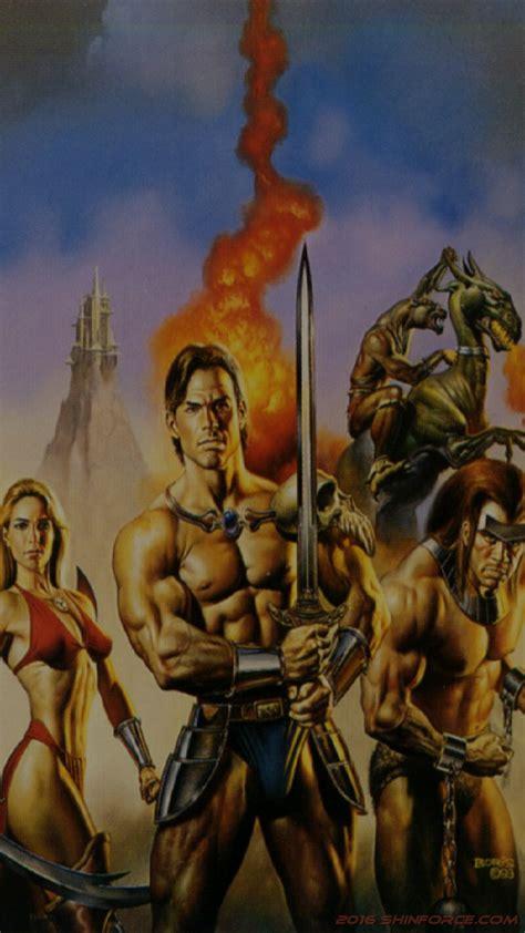 golden axe iii wallpaper segashin force elite