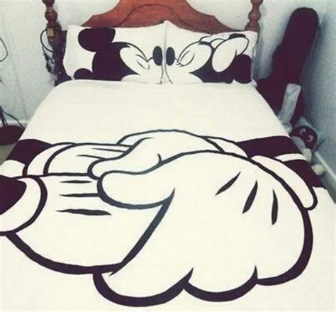 housse de couette mickey minnie t shirt bag blanket minnie mouse mickey mouse white pillow comforter