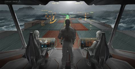 Ship Bridge by Vtt On The Ship Bridges Of The Future Mariners Will See