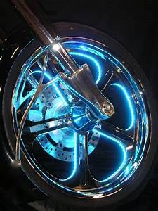 Multicolor Led Lights For Motorcycle Wheels