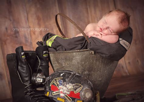 newborn coal miner picture ideas baby boy pictures