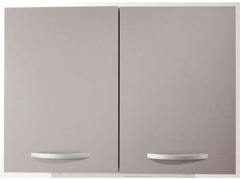 meuble haut cuisine 80 cm meuble haut 80 cm 2 portes spoon color coloris gris