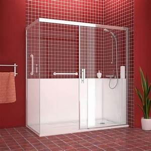 salle de bain design senior remplacement de baignoire par With salle de douche design